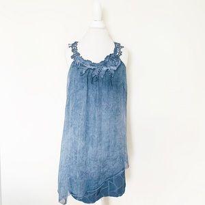 Vintage Concept brand blue dress size small
